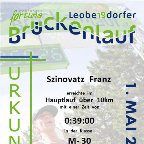 Urkunde Franz