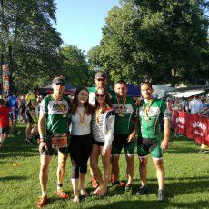 Doppelsieg beim Sprint Triathlon in Neufeld/See 2019