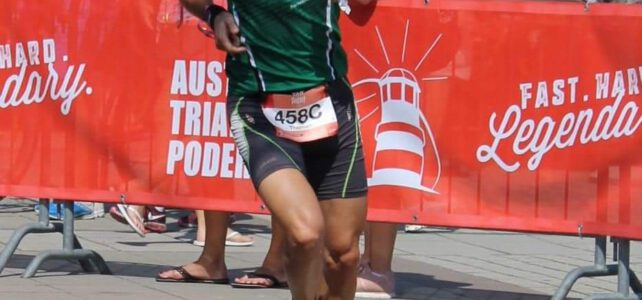 Triathlon-Staffel in Podersdorf