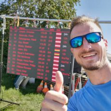 12h-Lauf: Franz und Thomas laufen mehr als 100km